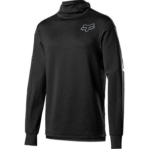 Fox Racing Defend Thermo Hooded Jersey  - Black