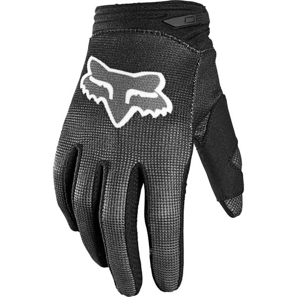 Fox Racing Youth 180 Oktiv Glove   - Black
