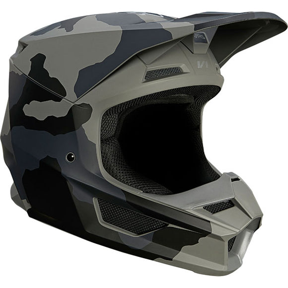 Fox Racing Youth V1 Trev Helmet  - Black Camo