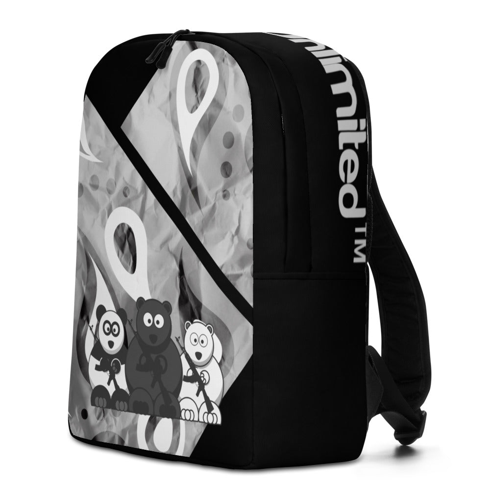 'Warrior Ice' Bear Escape Unlimited™ Minimalist Backpack