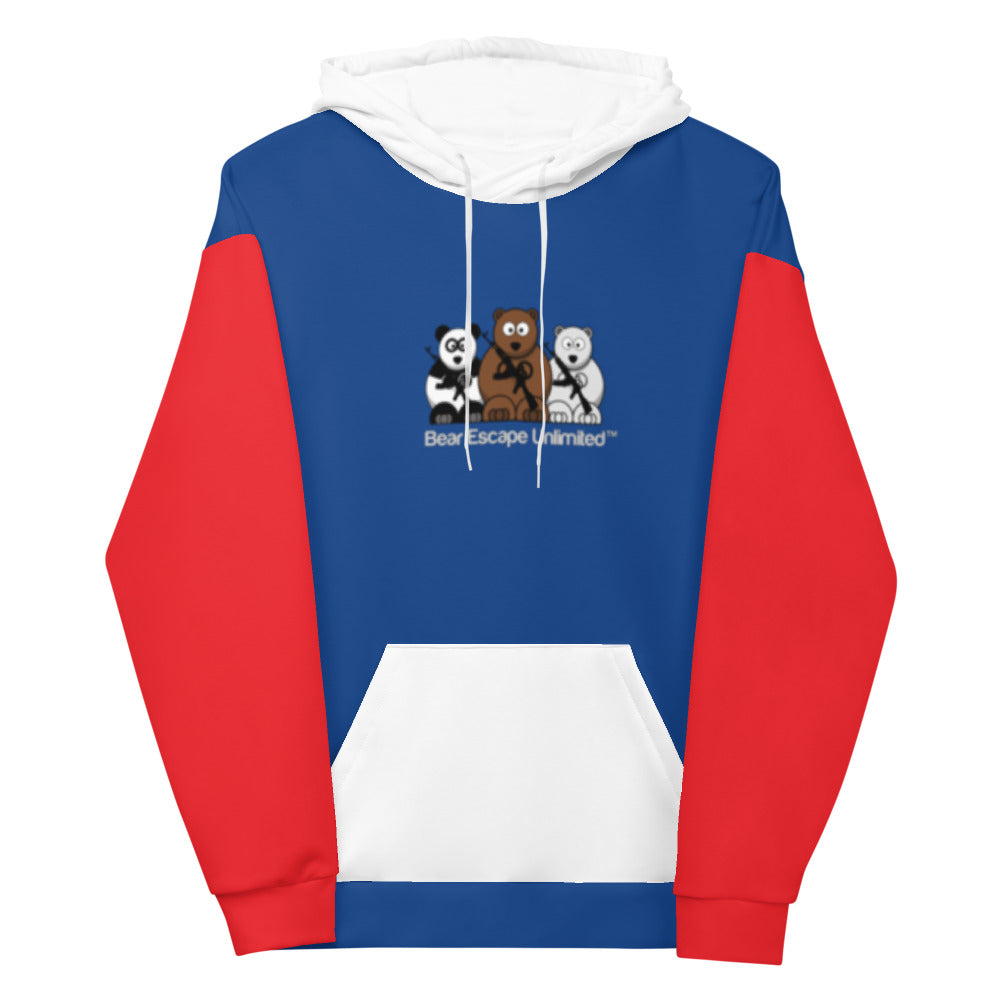 'United' Bear Escape Unlimited™ Unisex Hoodie