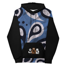 Load image into Gallery viewer, 'Warrior Blue' Bear Escape Unlimited™ Unisex Hoodie