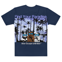 Load image into Gallery viewer, Men's 'Find Your Paradise' Bear Escape Unlimited™ T-shirt