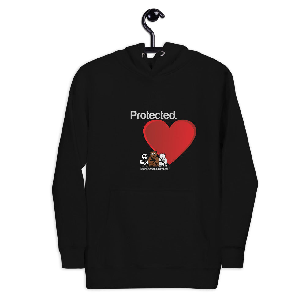 'Protected' Bear Escape Unlimited™ Unisex Hoodie