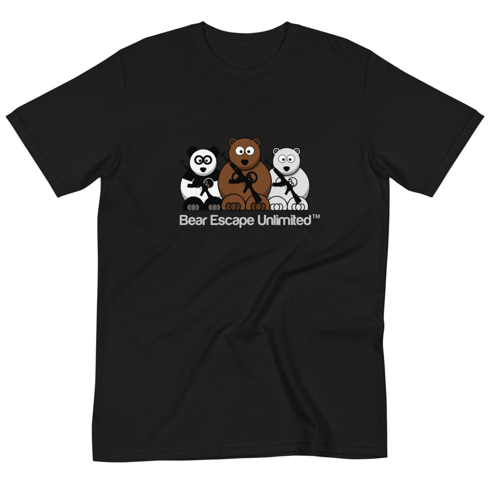 Bear Escape Unlimited™ Organic unisex Logo T-Shirt