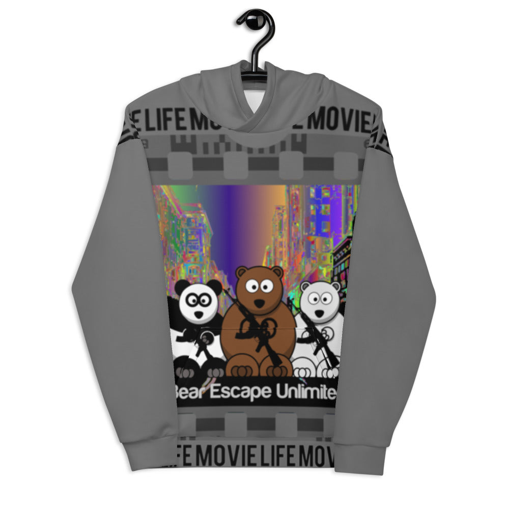 'Movie Life' Bear Escape Unlimited™ Unisex Hoodie