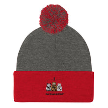 Load image into Gallery viewer, 'I Heart' Bear Escape Unlimited™ Pom-Pom Beanie