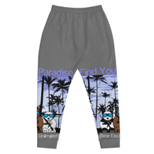 Load image into Gallery viewer, 'Find Your Paradise' Bear Escape Unlimited™ Men's Joggers