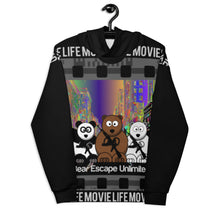 Load image into Gallery viewer, 'Movie Life' Bear Escape Unlimited™ Unisex Hoodie