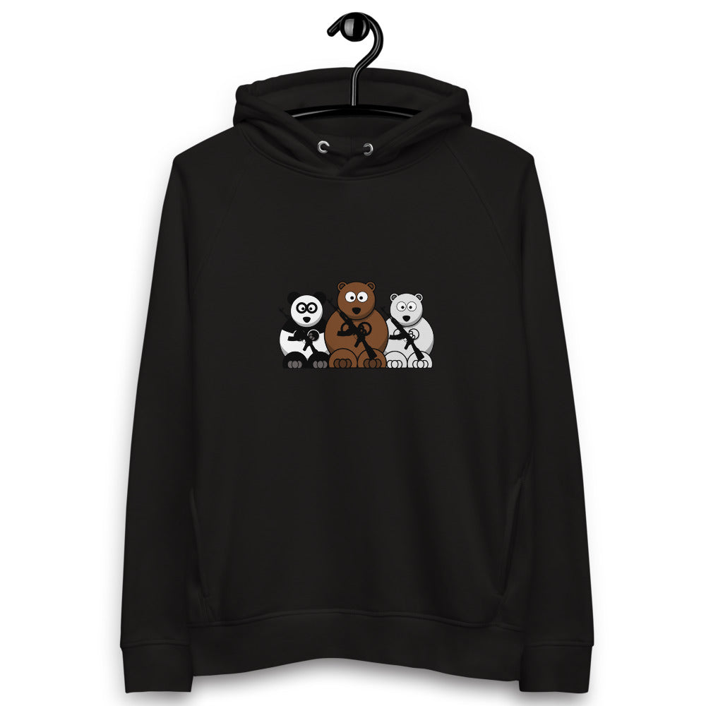 Bear Escape Unlimited™ Logo Unisex pullover hoodie