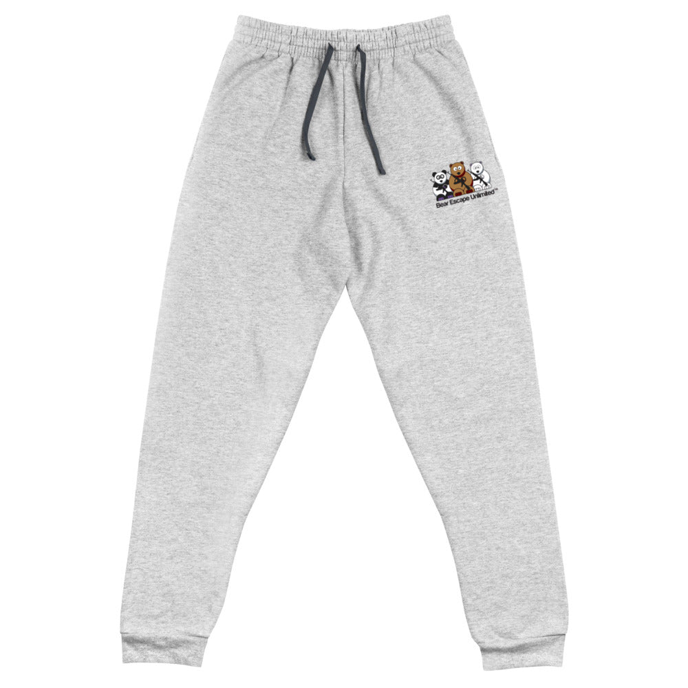 Embroidered Bear Escape Unlimited™ Logo Unisex Joggers