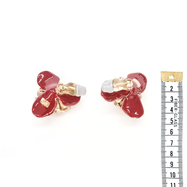 Rosalie Earrings- Red
