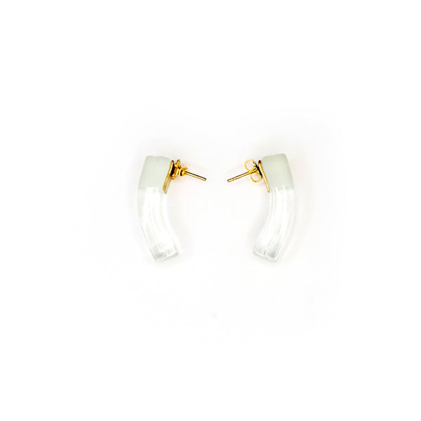 Irina Earrings- Clear