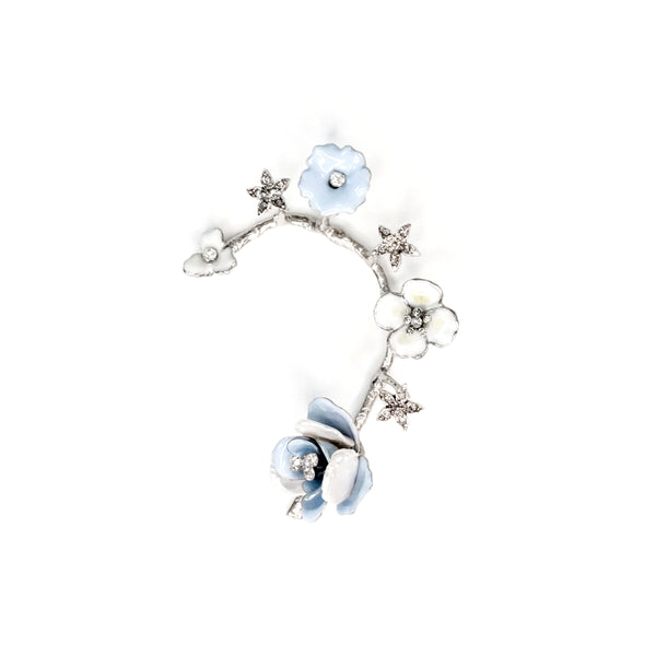 Sabri Ear Cuff- Pale Blue