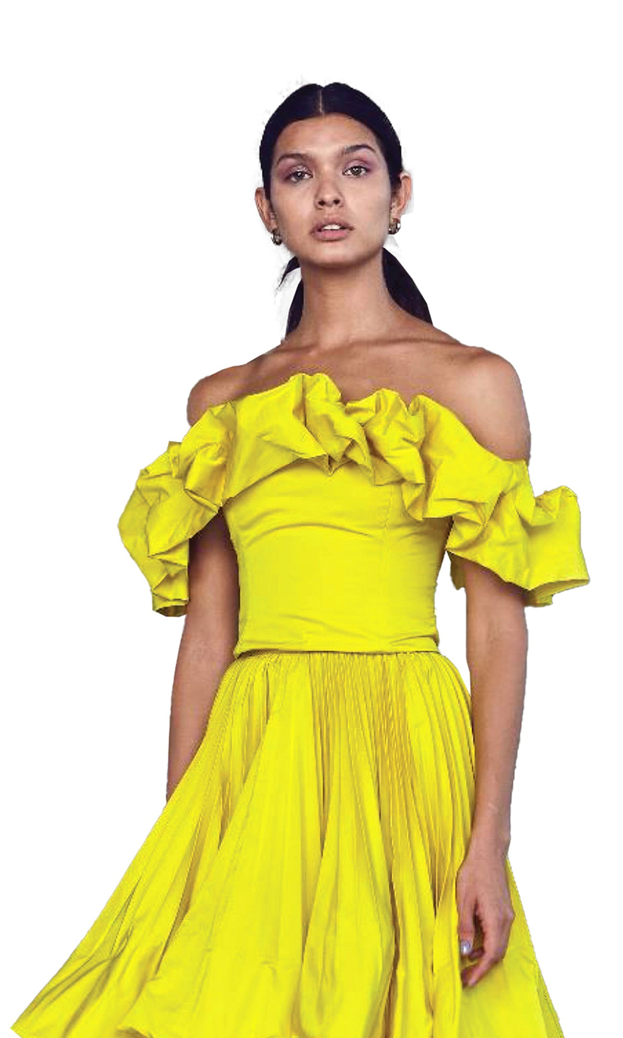 Lady Sophie Top in Yellow