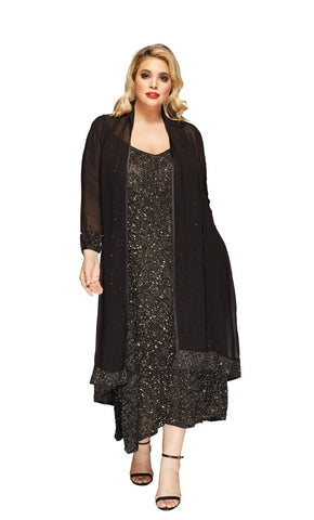 Maggie Plus Size Dress Coat