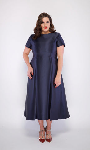 Ella Designer Plus Size Cocktail Dress