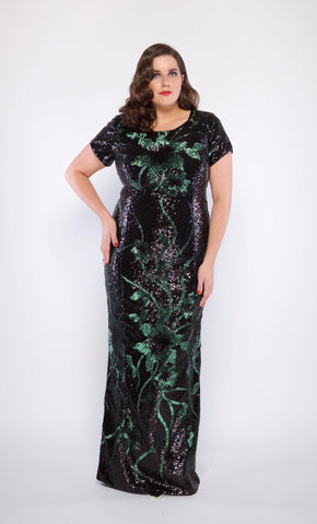 Caroline Plus Size Gown