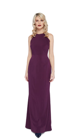 Amanda Gown in Purple
