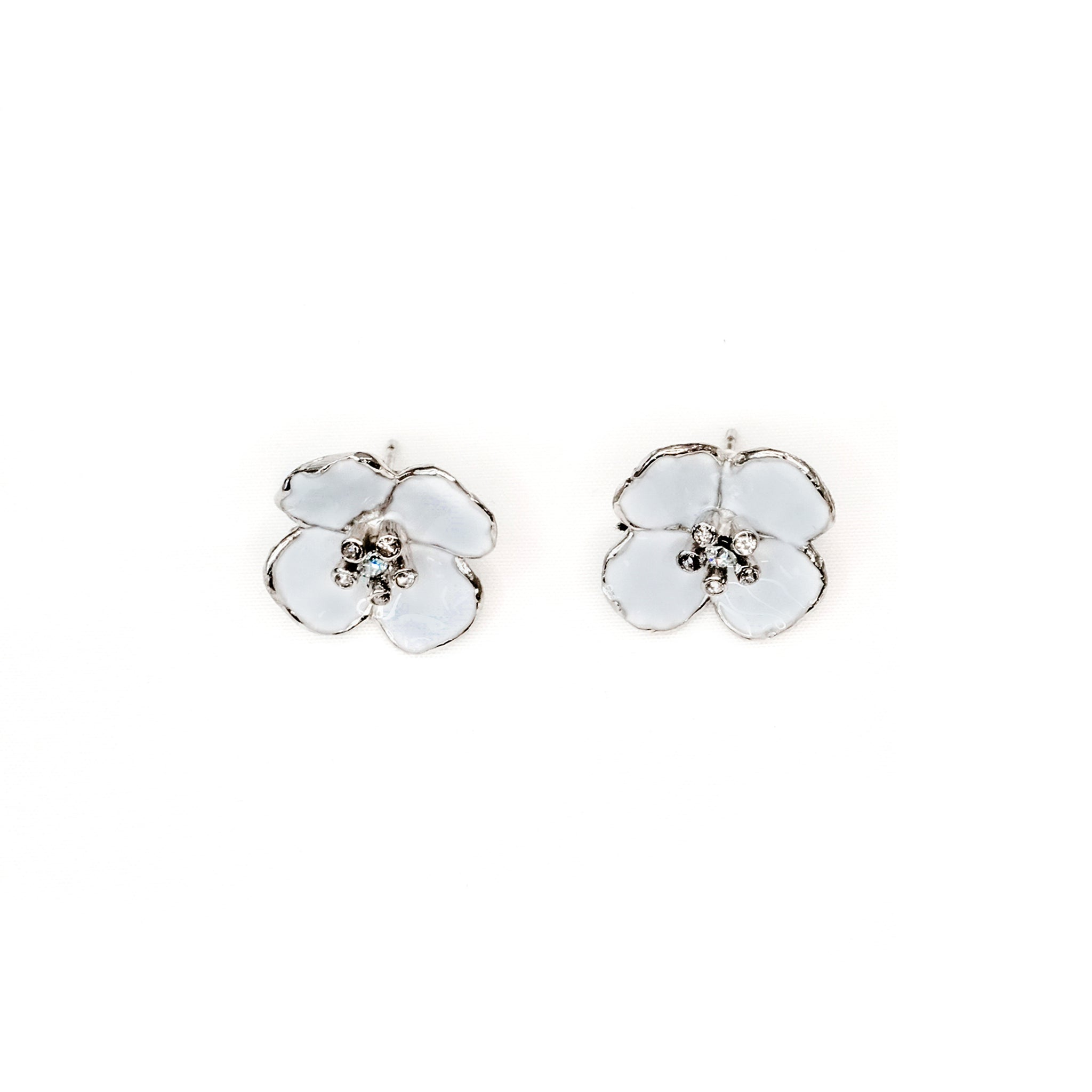 Ava Earrings - Pale Blue