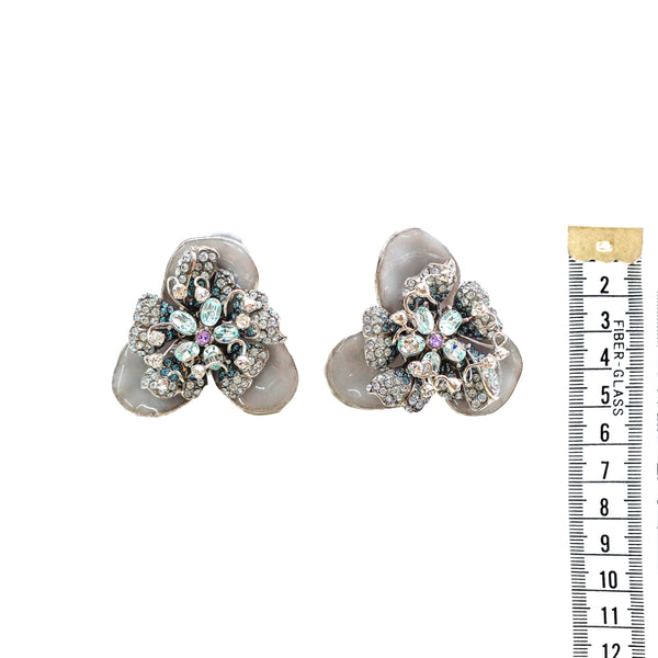 Rosalie Earrings- Grey