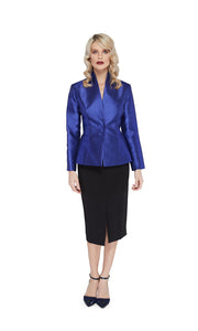 Celine Jacket in Electric Blue