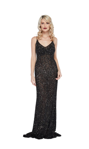 Sarina Gown in Black
