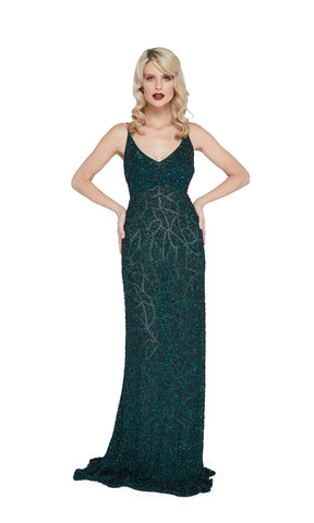 Sarina Gown in Green