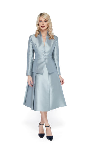 Celine Jacket in Ice Blue