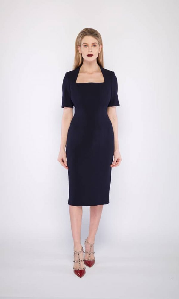 Vivien Cocktail in Navy
