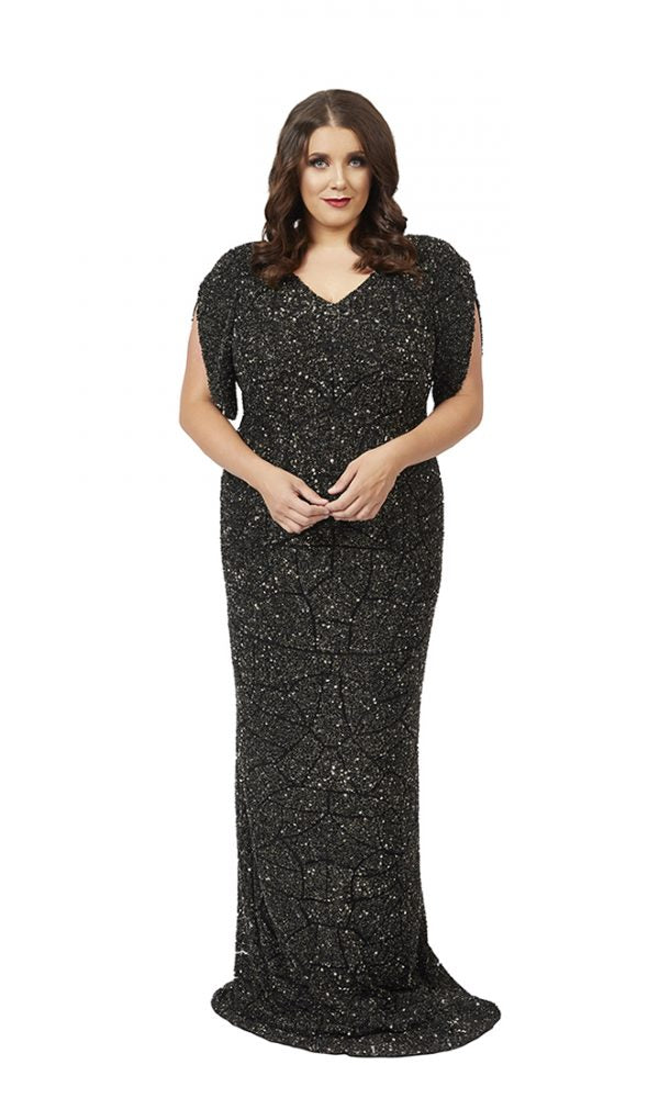 Vesper Gown in Black