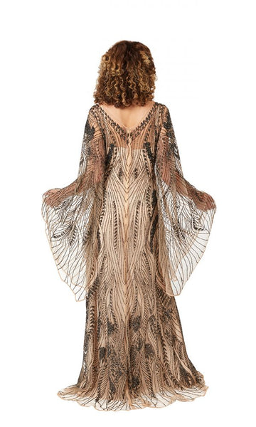 Cher Gown in Nude