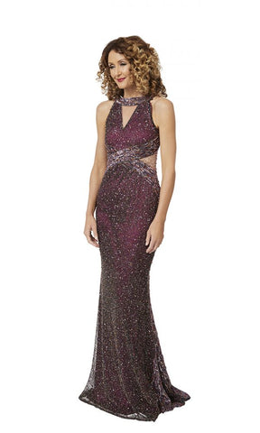 Miranda Gown in Purple