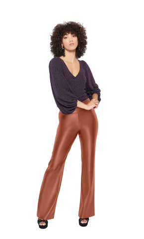 Adria Pants in Brown