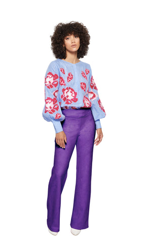 Annalise Pants in Purple