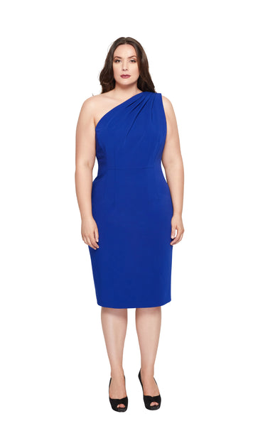 Kayla Plus Size Cocktail Dress