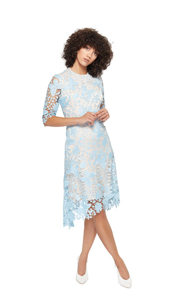 Kamal Dress in Light blue