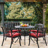 Elm PLUS Cast Aluminium Patio Dining Table