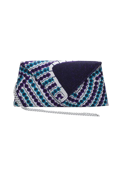 "African Clutch 11.4"" - Ashanti - House of SafiHadi"