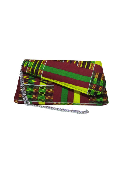 "African Clutch 11.4"" - Kumasi - House of SafiHadi"