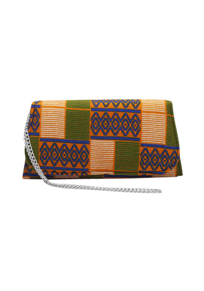 "African Clutch 11.4"" - Tumu - House of SafiHadi"