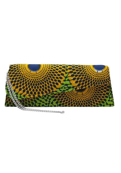 "African Clutch 14.5"" - Keta - House of SafiHadi"