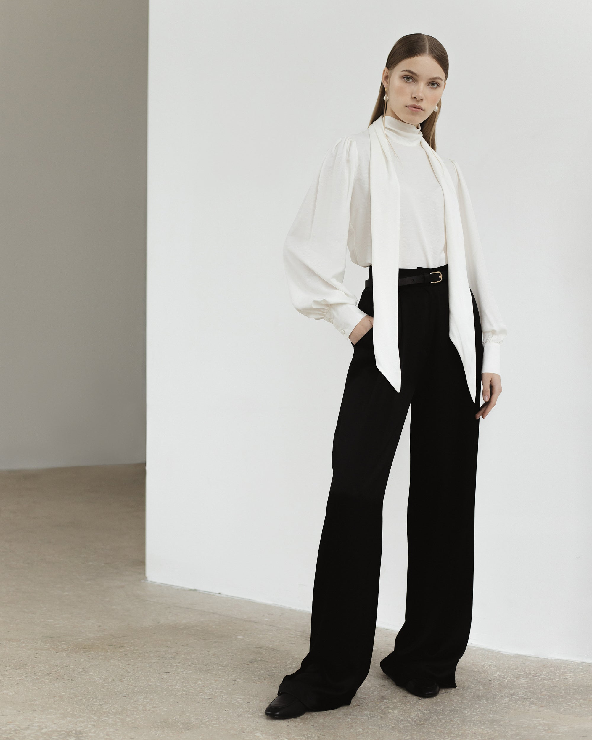 Viscose Wide Trousers