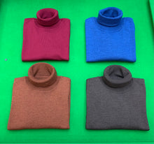 Load image into Gallery viewer, Merino Wool Roll Neck - BROWN