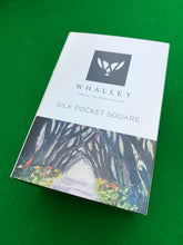 Load image into Gallery viewer, Pocket Square - WHALLEY SILK - Hedges