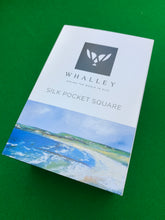 Load image into Gallery viewer, Pocket Square - WHALLEY SILK - Portballintrae