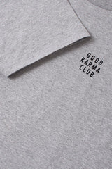 Good Karma Club Shirt Grey Melange