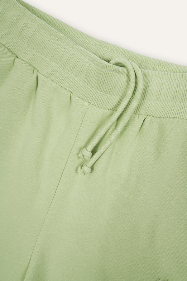 Homewear Sweatshorts Aloe