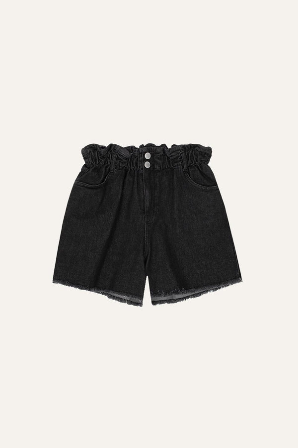 Ava Shorts Dark Grey