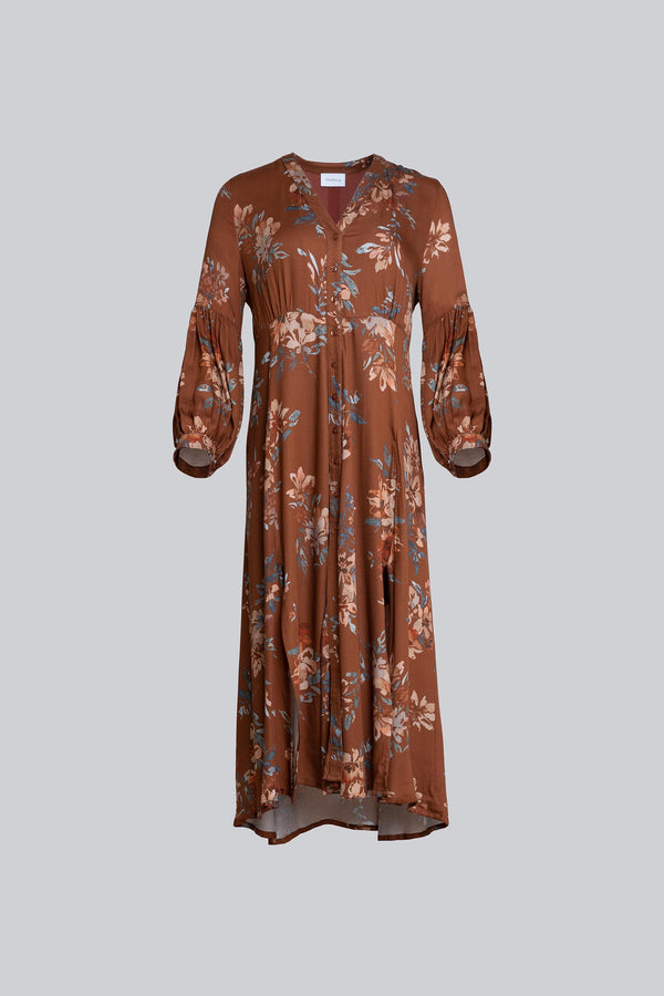 Sienna Dress Dark Flower (6013405593783)